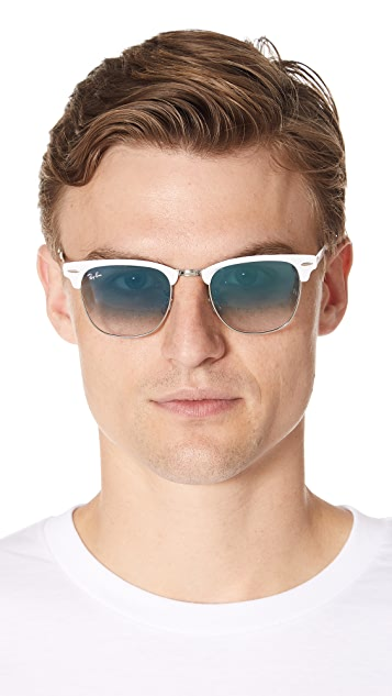 Ray-Ban Clubmaster Metal Sunglasses