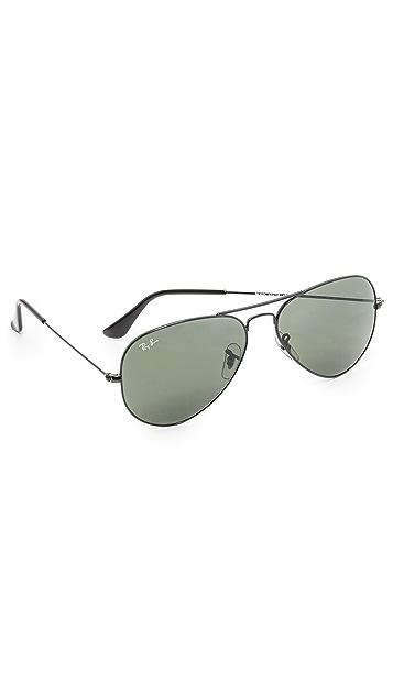 Ray-Ban Aviator Large Metal Sunglasses | EAST DANE