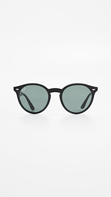 Ray-Ban RB4380N Blaze Round Sunglasses