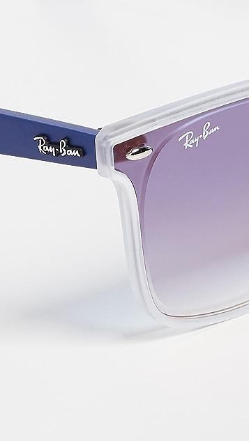 Ray-Ban RB4440N Blaze Wayfarer 方形渐变色太阳镜