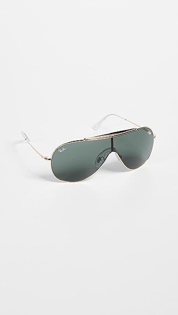 Ray-Ban Oversized Shield Sunglasses