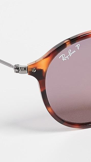 Ray-Ban RB2447 Круглые солнцезащитные очки с поляризованными линзами