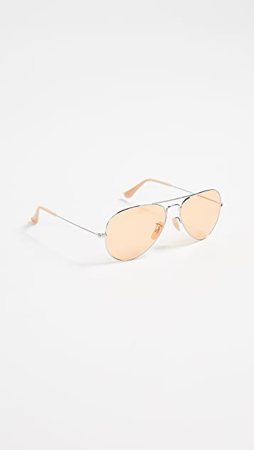 Ray-Ban RB3025 Classic Aviator Evolve Sunglasses