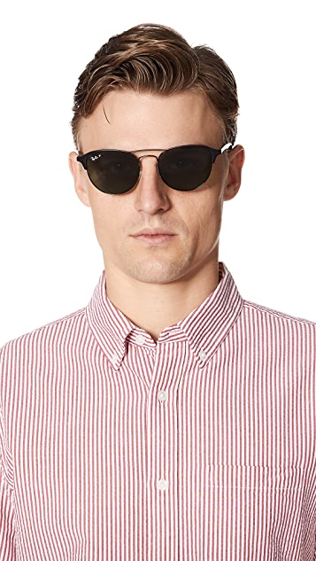 Ray-Ban Round Polarized Sunglasses