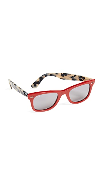 Ray-Ban Square Polarized Sunglasses