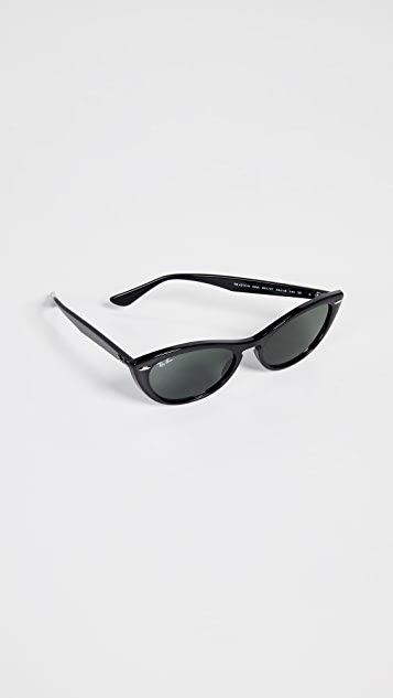 Ray-Ban RB4314N Nina Cat Eye Sunglasses
