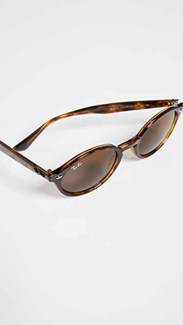 Ray-Ban RB4315 Skinny Oval Sunglasses