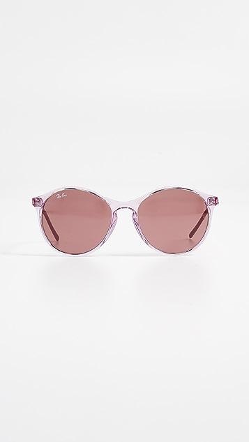 Ray-Ban RB4371 Большие круглые солнцезащитные очки