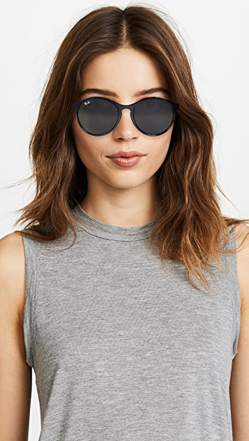 Ray-Ban RB4371 Oversized Round Sunglasses