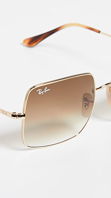 Ray-Ban RB1971 Icons Oversized Square Sunglasses