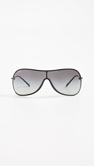 8f90708124 Ray-Ban RB4411 Shield Sunglasses ...