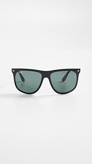 Ray-Ban RB4447N Солнцезащитные очки с плоским верхом Blaze