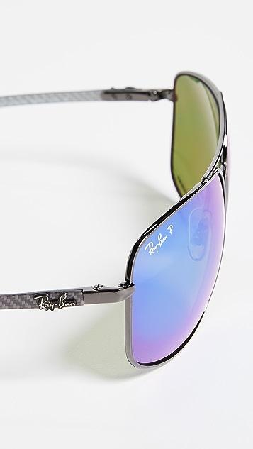 Ray-Ban RB8322CH Chromance Sporty Aviator Sunglasses