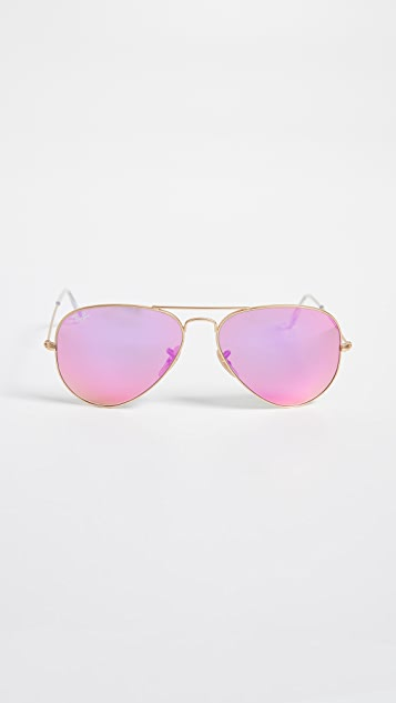 Ray-Ban Classic Mirror Aviators