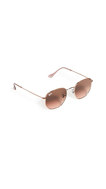 Ray-Ban Icons Hexagonal Sunglasses