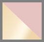 青铜色/粉色渐变棕色