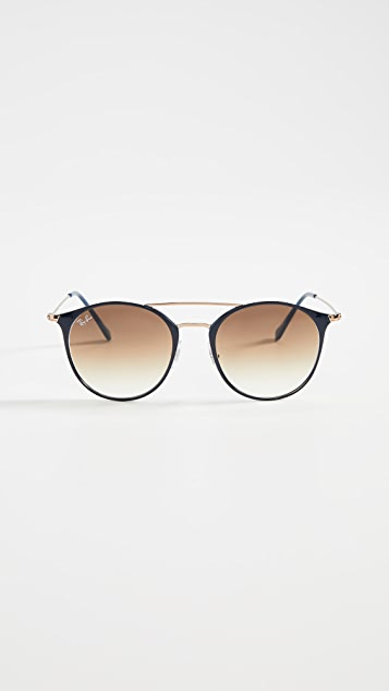 Ray-Ban Highstreet Phantos 飞行员太阳镜