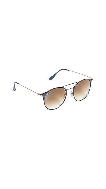 Ray-Ban Highstreet Phantos Aviator Sunglasses
