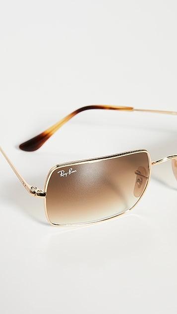 Ray-Ban 1969 Rectangular Sunglasses