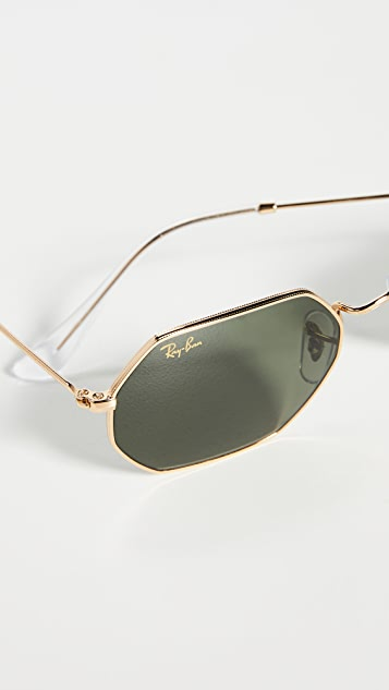 Ray-Ban Icons 窄款八角形太阳镜
