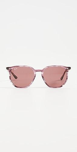 Ray-Ban - 54 Highstreet Hexagonal Sunglasses