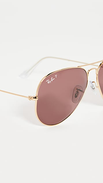 Ray-Ban 58 RB3025 Classic Aviator Sunglasses