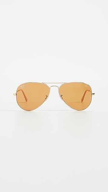 Ray-Ban 0RB302 Classic Aviator Sunglasses