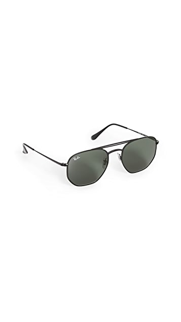 Ray-Ban 0RB360 Square Aviator Sunglasses