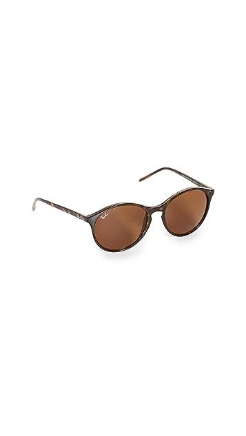 Ray-Ban 0RB437 Round Wayfarer Sunglasses