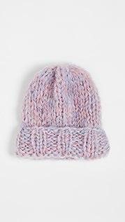 Rose Carmine 针织帽