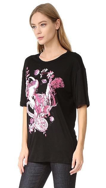 Roberto Cavalli Short Sleeve T-Shirt