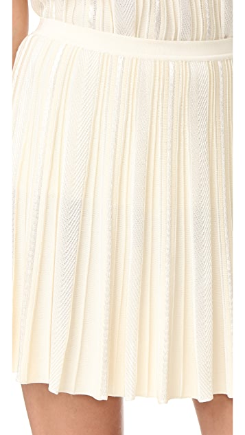 Roberto Cavalli Pleated Skirt