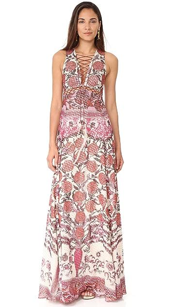 Roberto Cavalli Ruffled Dress