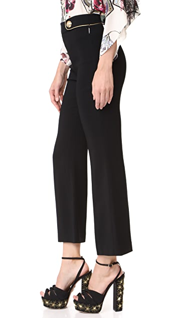 Roberto Cavalli Cropped Pants