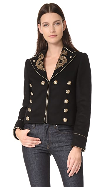 Roberto Cavalli Embroidered Jacket