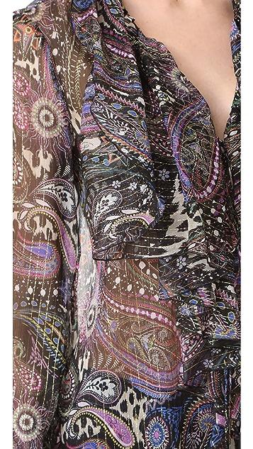 Roberto Cavalli Printed Blouse