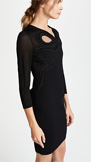 Roberto Cavalli Cutout Mini Dress