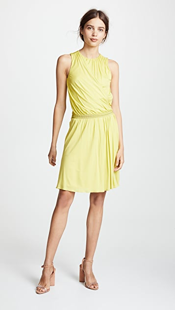 Roberto Cavalli Knitted Midi Dress - Limoncello