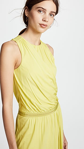 Roberto Cavalli Knitted Midi Dress
