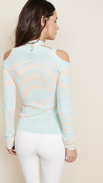 Roberto Cavalli Zebra Sweater