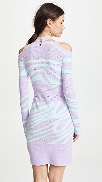 Roberto Cavalli Mini Knit Dress