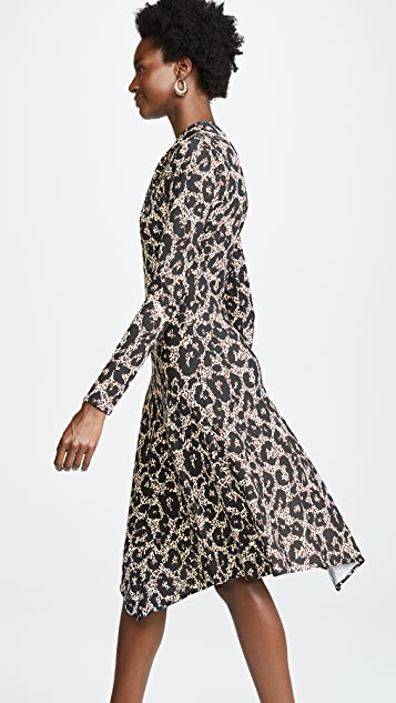 Roberto Cavalli Knit Leopard Dress