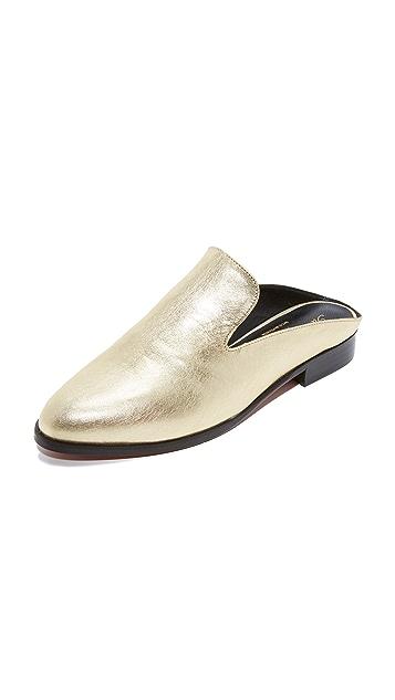 Clergerie Обувь без задников на плоской подошве Alicen