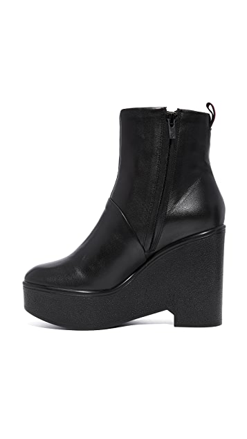 Robert Clergerie Bisouto Block Heel Booties