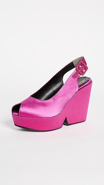 Clergerie Dylann Platform Sandals