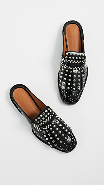 Robert Clergerie Youla Mule Flats