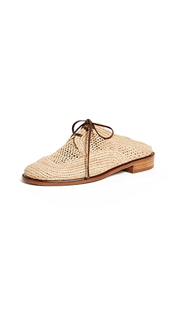 Robert Clergerie Jaly Oxford Mules