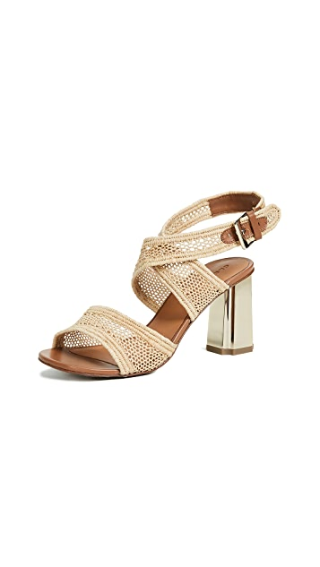 Robert Clergerie Zorap Strappy Sandal Pumps