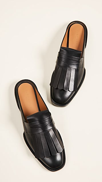 Robert Clergerie Yumi Loafer Mules