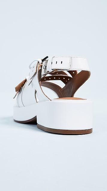 Robert Clergerie Slingback Sandals